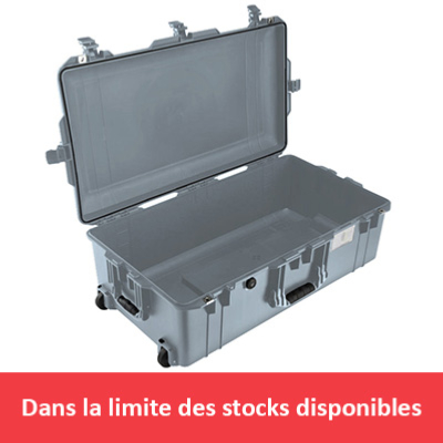 VALISE PELI AIR 1615 GRISE VIDE