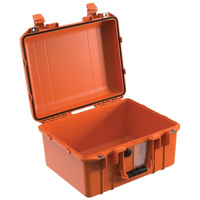 VALISE PELI AIR 1507 ORANGE VIDE